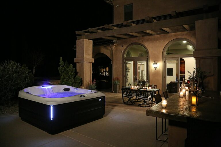 Jacuzzi J-400 Collection Hot Tub Installation in Orange County