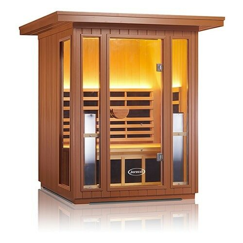 Sanctuary Outdoor 2 Jacuzzi Infrared Sauna