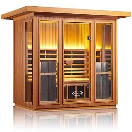 Sanctuary Outdoor 5 Jacuzzi Infrared Sauna