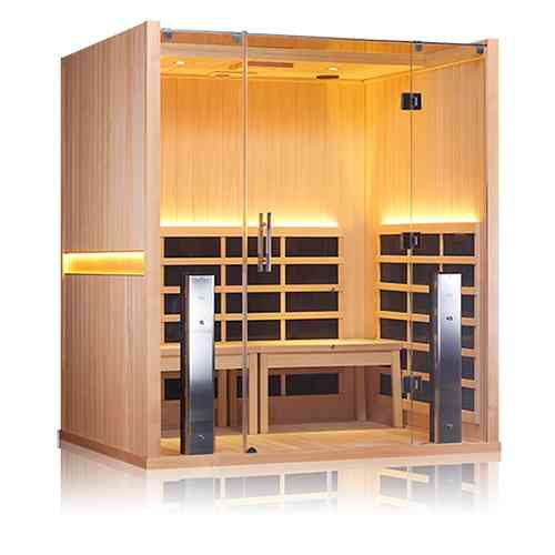 Sanctuary Retreat Jacuzzi Infrared Sauna