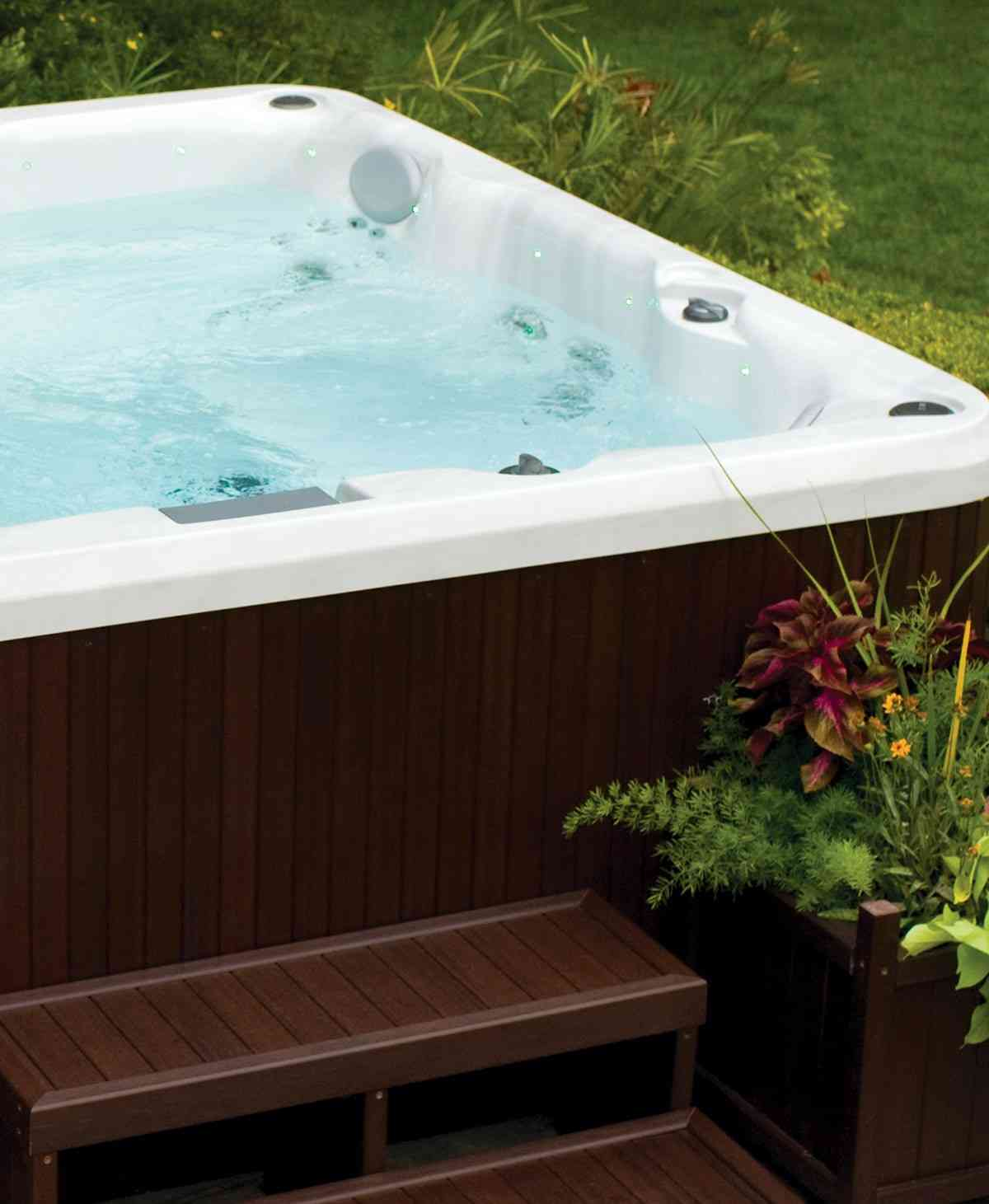 J-200 Hot Tub Collection Skirt Cabinet